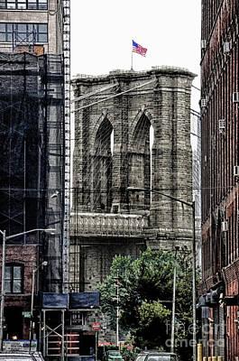 Brooklyn Bridge 7 Poster by Bob Stone