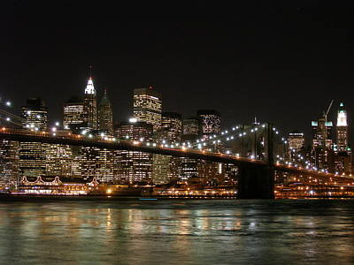 Brooklyn Bridge Poster by George Inness