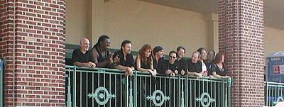 Bruce And The E Street Band In Ap Poster by Melinda Saminski
