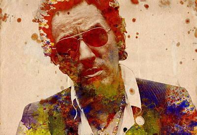 Bruce Springsteen Poster by Bekim Art