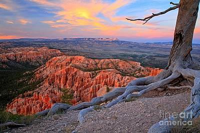 Bryce Sunset Glow Poster by Adam Jewell