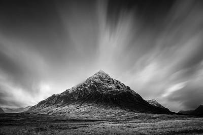 Buachaille Etive Mor 1 Poster by Dave Bowman