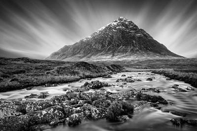 Buachaille Etive Mor 3 Poster by Dave Bowman