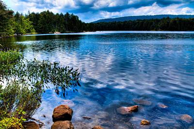 Bubb Lake In The Adirondacks Poster by David Patterson