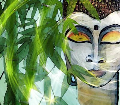 Budha Meditation Poster by Mar Glo