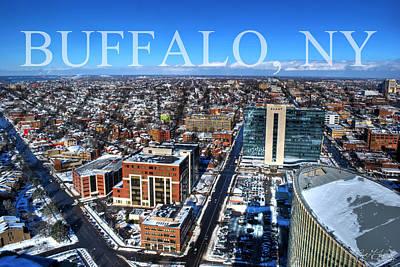 Buffalo Ny Winter 2013 Poster by Michael Frank Jr