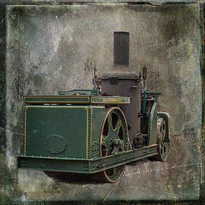 Buffalo Springfield Steam Roller Poster by Paul Freidlund