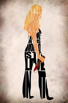 Buffy The Vampire Slayer Poster by Ayse Deniz
