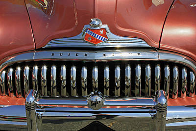 Buick Super Eight Poster by Suzanne Gaff