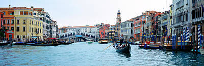 Buildings At The Waterfront, Rialto Poster by Panoramic Images
