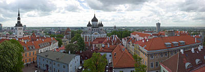 Buildings In A City, St. Nicholas Poster by Panoramic Images