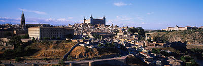 Buildings In A City, Toledo, Toledo Poster by Panoramic Images