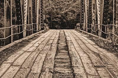 Bull Slough Bridge Poster by JC Findley