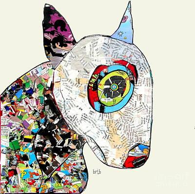 Bulldog Terrier Comic  Poster by Bri B