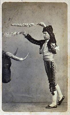Bullfighting. Occupational Portrait Poster by Everett