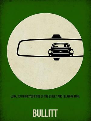 Bullitt Poster Poster by Naxart Studio