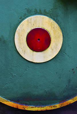 Bullseye Poster by Skip Hunt
