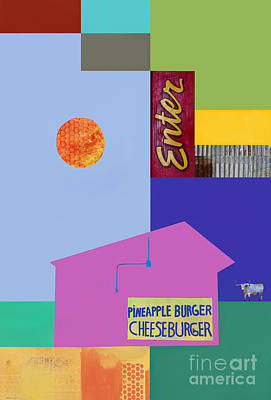 Burger Joint  #4 Poster by Elena Nosyreva