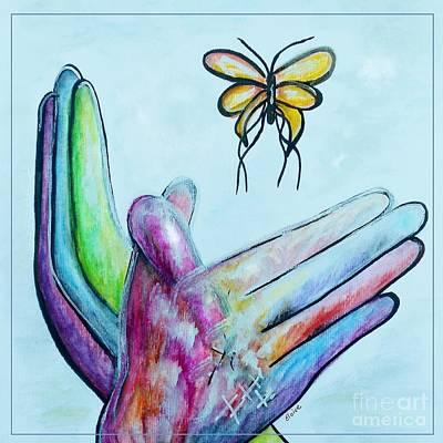 Butterfly Poster by Eloise Schneider
