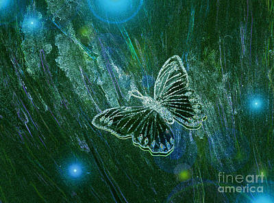 Butterfly Magic By Jrr Poster by First Star Art