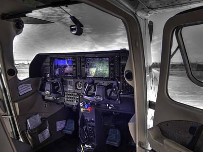 C A P Cessna 182 Skylane G1000 Fsx V1 Poster by John Straton