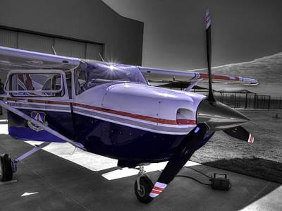 C A P Cessna 182 Skylane G1000 Fsx V2 Poster by John Straton