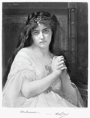 Cabanel Desdemona Poster by Granger
