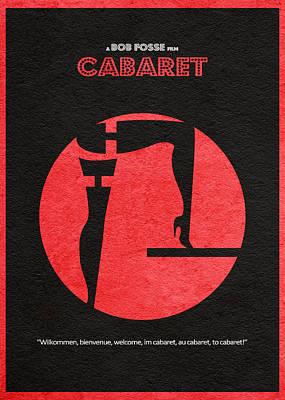 Cabaret Poster by Ayse Deniz