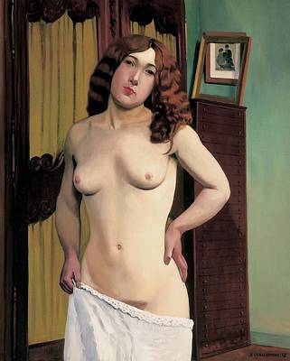 Cabinet Chest Poster by Felix Edouard Vallotton