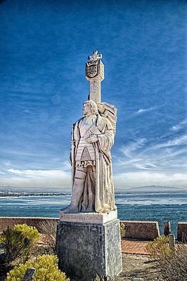 Cabrillo National Monument - Point Loma California Poster by Jon Berghoff