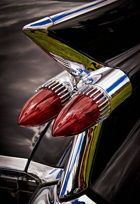 Cadillac Fin Poster by Phil 'motography' Clark