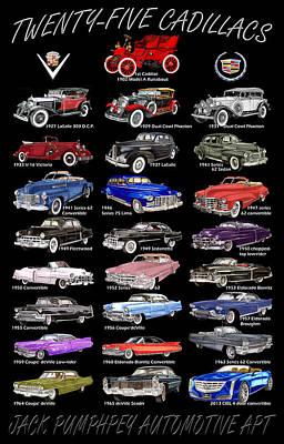 Cadillac Poster  Poster by Jack Pumphrey