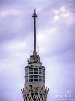 Cairo's Gazira  Tower  Poster by Karam Halim