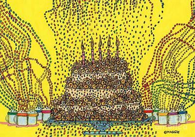 Cake Balls Of Plenty  Poster by Mag Pringle Gire