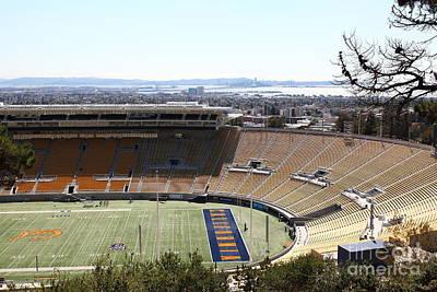 Cal Golden Bears California Memorial Stadium Berkeley California 5d24665 Poster by Wingsdomain Art and Photography