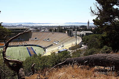 Cal Golden Bears California Memorial Stadium Berkeley California 5d24670 Poster by Wingsdomain Art and Photography