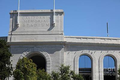Cal Golden Bears California Memorial Stadium Berkeley California 5d24675 Poster by Wingsdomain Art and Photography