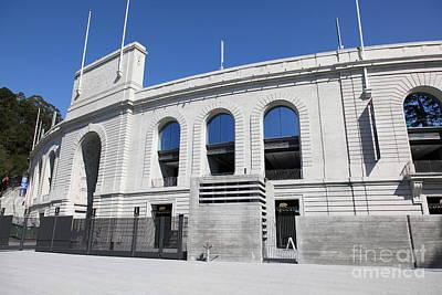 Cal Golden Bears California Memorial Stadium Berkeley California 5d24726 Poster by Wingsdomain Art and Photography