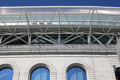 Cal Golden Bears California Memorial Stadium Berkeley California 5d24753 Poster by Wingsdomain Art and Photography