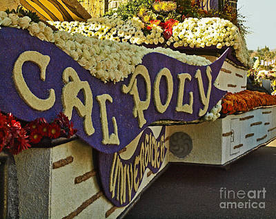 Cal Poly Rose Parade 1 Poster by Howard Stapleton