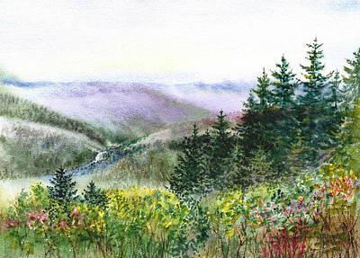Redwood Creek National Park Poster by Irina Sztukowski
