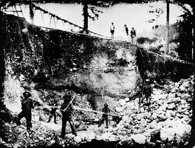 California: Mining, 1850s Poster by Granger