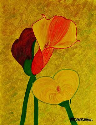 Calla Lilly Poster by Celeste Manning
