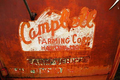 Cambell Farming Corperation Hardin Montana Poster by Jeff Swan