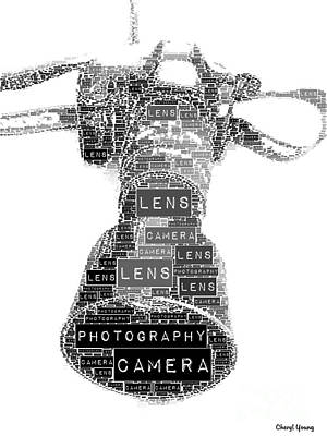 Camera Poster by Cheryl Young