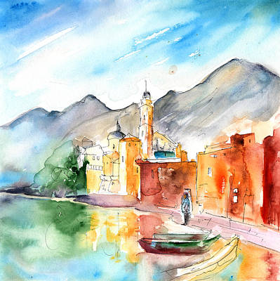 Camogli In Italy 11 Poster by Miki De Goodaboom