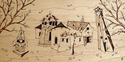Campo San Giacomo Church Venice Poster by Arte Venezia