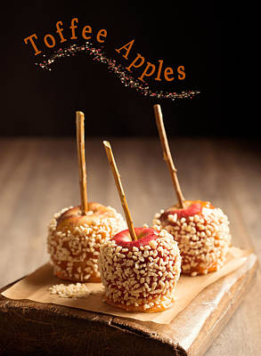 Candy Apples Poster by Amanda And Christopher Elwell