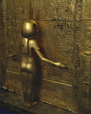 Canopic Chest Of Tutankhamun. 1333 Bc Poster by Everett