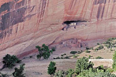 Canyon De Chelly Junction Ruins Poster by Christine Till
